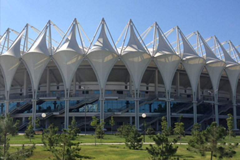 The Bunyodkor Stadium, Tashkent, Uzbekistan